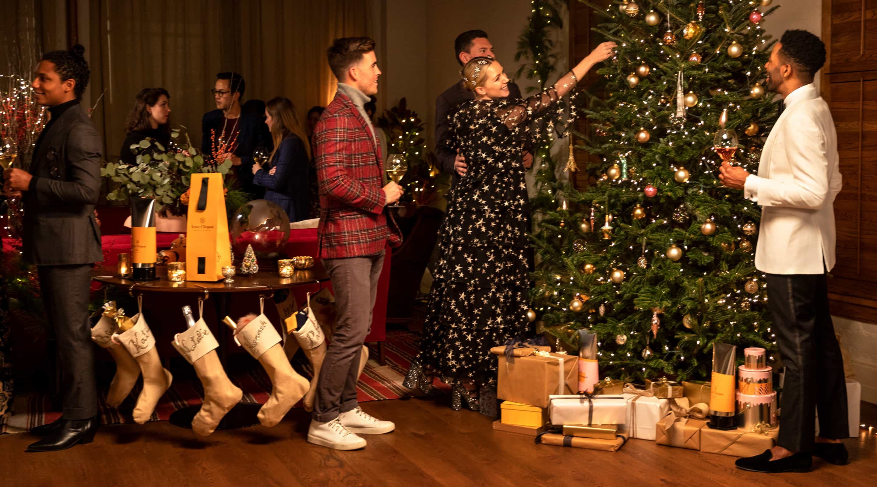 Veuve Clicquot Social Media Campaign for Holiday