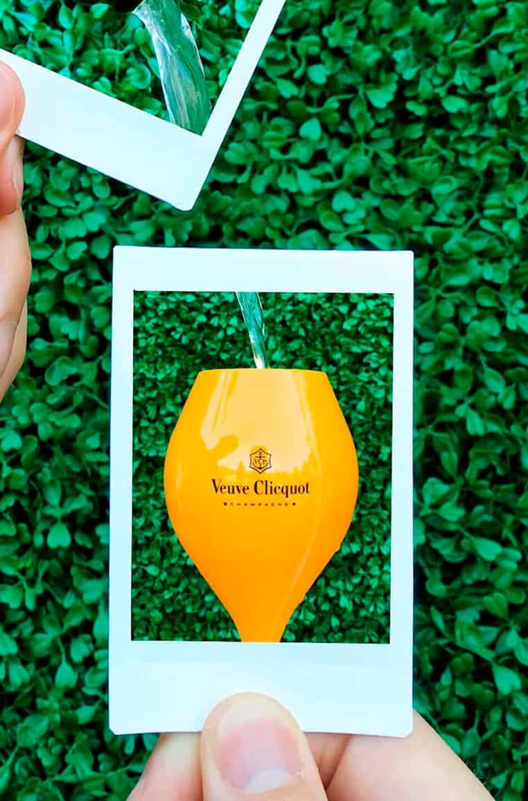 Veuve Clicquot and Krug Champagne